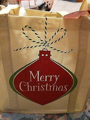 Publix Gingerbread people reusable shopping bag NWT