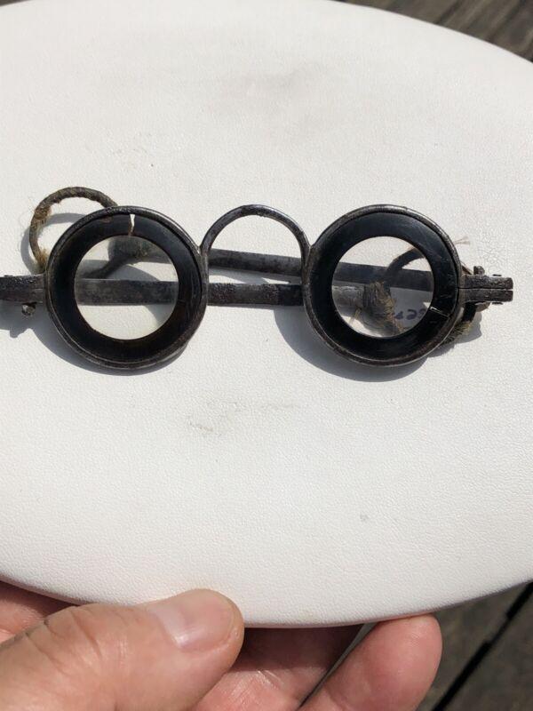Antique 18th Century Era 1750 Martin's Margins Spectacles Eyeglasses