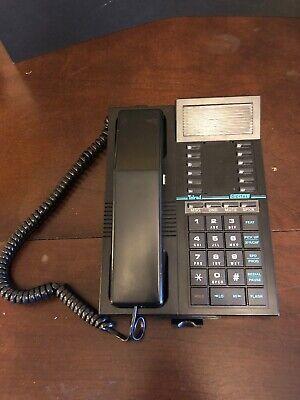 Telrad 79-500-0000b 16 Button Black Phone