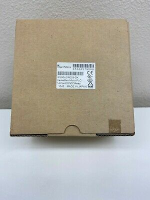 Ge Ic200udr003versamax Micro 14 Dc In12vdc Relay Out. New Surplus In Box