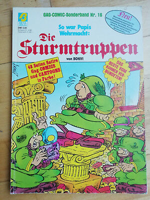 Die Sturmtruppen (Nr. 16) - GAG-Comic Sonderband. Z. 1-2