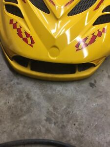 Zx chassis hood with good bumper .