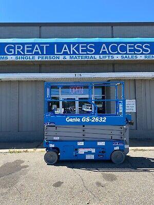 New Genie Gs2632 26 Scissor Lift Man New Wnew Factory Warranty Ship Anywhere