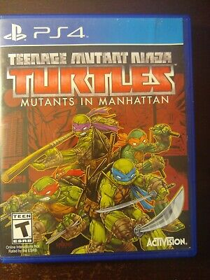 Teenage Mutant Ninja Turtles: Mutants in Manhattan (Sony PlayStation 4) PS4