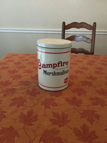 Vintage Campfire Marshmallow Replica Tin