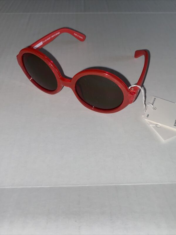 Janie and Jack Red Sunglasses girls size 0-2 years NWT