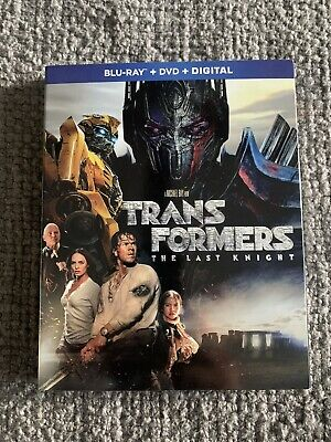 Transformers - The Last Knight Blu Ray W/ Slipcover