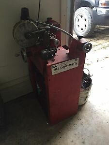 415 disc matic brake lathe