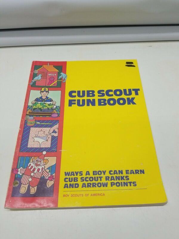 Cub Scout Fun Book - 1986