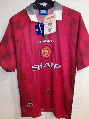 MANCHESTER UNITED 1996-1997 BNWT Sharp camiseta shirt trikot maillot umbro
