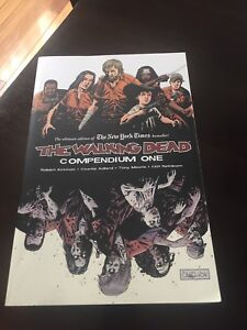 The walking dead compendium one mint