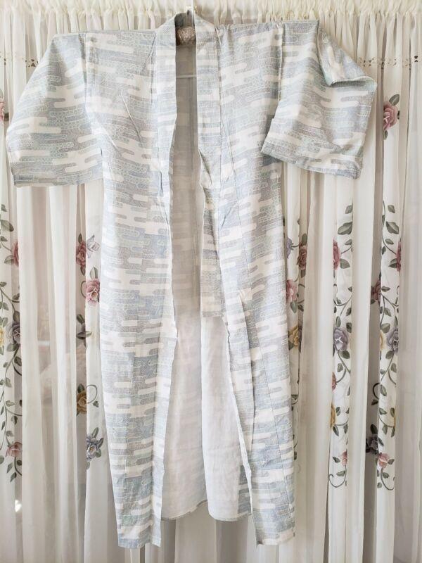 Japanese kimono cotton yukata robe