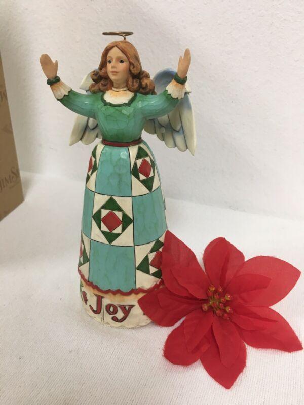 """Jim Shore angel """"pure joy"""" 2008 figure 8"""" Christmas 4010532 Heartwood Creek"""