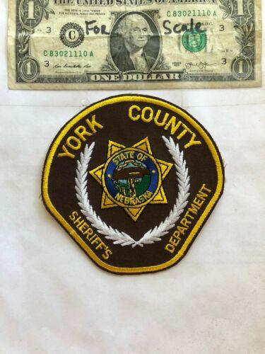 York County Nebraska Police Patch ( Sheriff