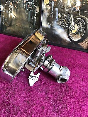 3847 Harley Ironhead Shovelhead Lectron Carb Carburetor Intake Air Cleaner