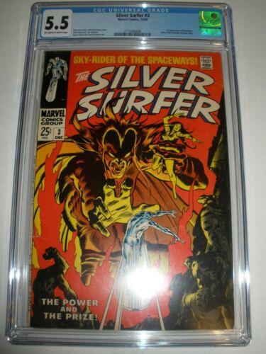 Marvel Comics Silver Surfer # 3 CGC 5.5 1st app Mephisto