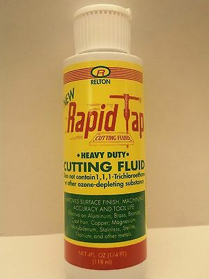 Relton 04z-nrt Rapid Tap Cutting And Drilling Fluid 4 Oz.