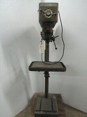 Rockwell Delta Drill Press Model 15-655 Ctam 7079