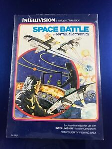 Space Battle for Intellivision NIB