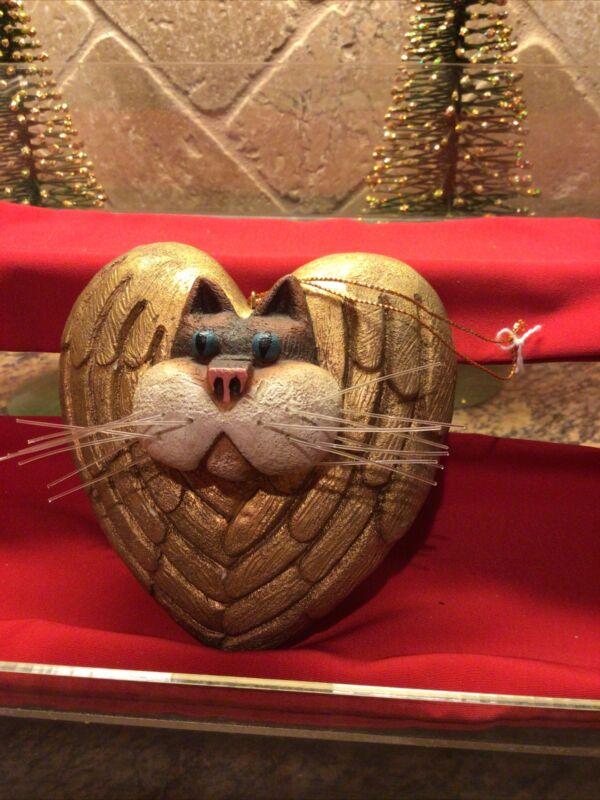 Christmas Angel Cat Ornament