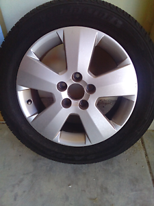 Holden Astra rim and tyre for sale Alexander Heights Wanneroo Area Preview