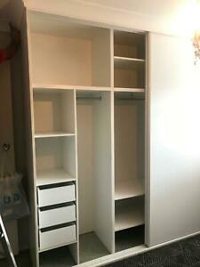 Wardrobe cupboard and sliding doors