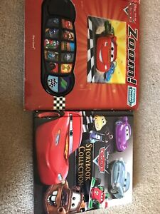 2 Books: Cars Zoom! & Cars Storybook Collection