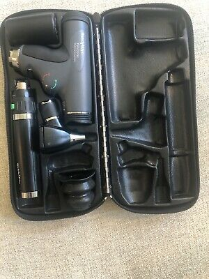 Welch Allyn Panoptic Ophthalmoscope 11800 Otoscope Set Lithium Ion