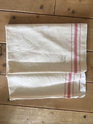CC41 WW2 Make Do And Mend Linen Tea Towel