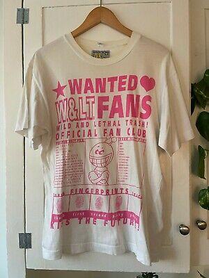 VTG Walter Van Beirendonck W&LT Puk Puk Fan Club Tee Size M