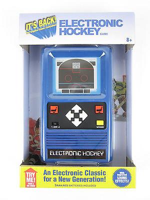 Electronic Handheld HOCKEY Game (Remake of the 1978 vtg game) Pocket NIB