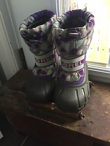 Winter girls' Sorel boots