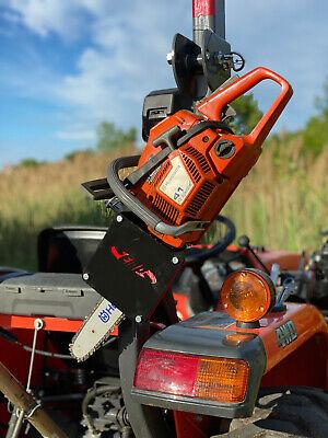 Tractor Chainsaw Rack For Rops Fitskubota New Holland John Deere Pn 14217
