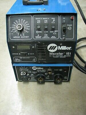Miller Maxstar 151 Welder Power Source With Snap Start 1 Phase