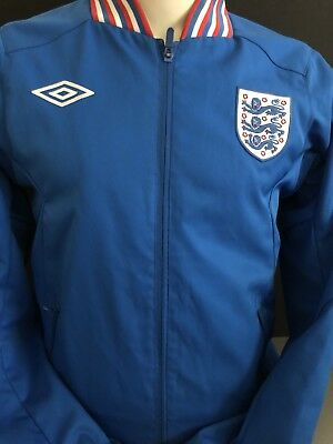 Retro Umbro England 1966 Ramsey Tracksuit Jacket Sized Small Vintage (3)