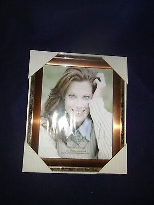 decorative picture frame with copper and silver metal frame great shape cheap](Cheap 8x10 Frames)