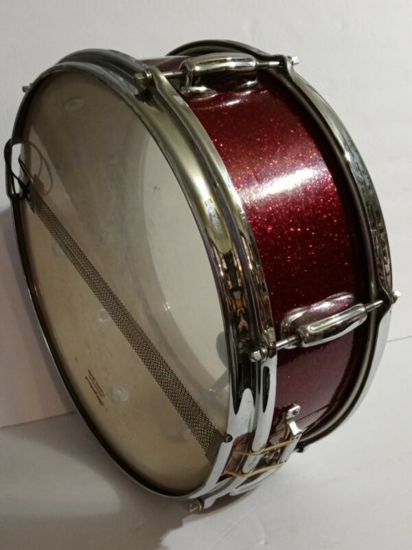 Slingerland 6.5x14 Red Glitter King Snare Drum Stand Case