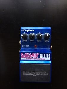 Overdrive/Distortion electric guitar pedal