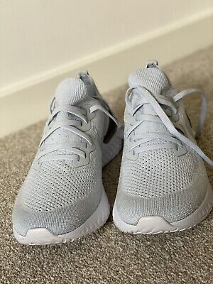 Nike Epic React Flyknit 2 Pure Platinum Men's Trainers Size UK10