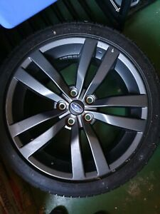 WRX 2016 ALLOY WHEEL AND TYRE