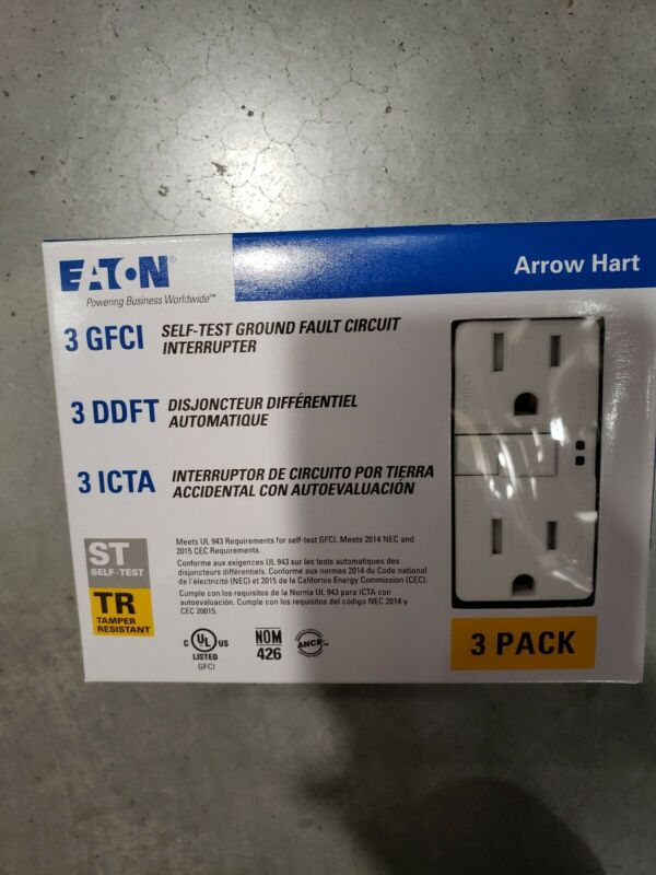 Eaton self test TRSGF15W-3-L