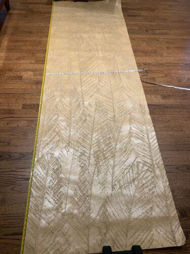 Silk Dynasty Wallpaper Handtextured Handpainted Soft Gold Color