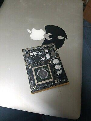 """2011 Apple 27"""" iMac A1312 video card AMD Radeon HD 6970M 1GB 661-5968 (NHAF)"""