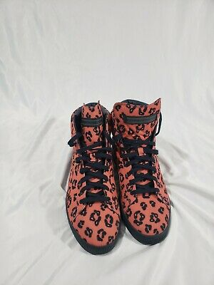 Puma Basket Mid x House Of Hackney Lace Up Salmon Mens Trainers 358464 SIZE 10