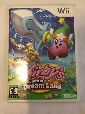 Kirby's Return To Dreamland Wii ) COMPLETE