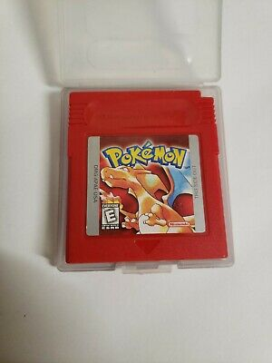 Pokemon Red Nintendo Gameboy Game
