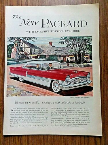 1955 Packard 400 Four Hundred Coupe Ad  Discover for Yourself