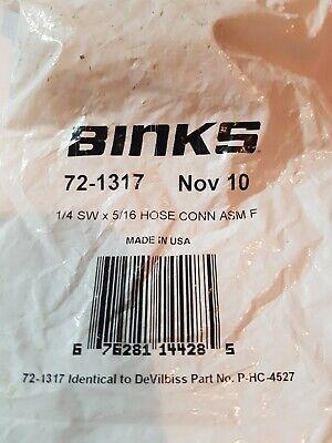Binksdevilbiss Hose Connector Assm