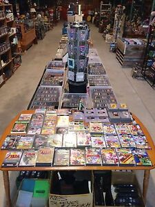 MASSIVE RETRO VIDEO GAME ETC SALE OTTERVILLE SAT. AUG. 26!
