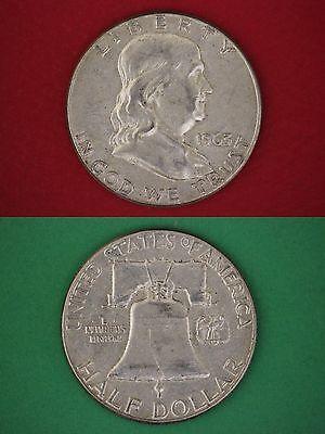 MAKE OFFER $1.00 Face Value Ben Franklin Half Dollars Halves Junk Silver Coins